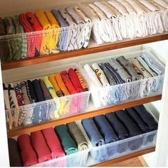 What the kids closets look like after mom watches on Netflix — 💁‍♀️👩 organization diy hacks 18 Completely Genius Home Organizing Hacks from Japan Organisation Hacks, Organizing Hacks, Wardrobe Organisation, Clothing Organization, Storage Organization, Storage Ideas, Small Storage, Organising, Storage Design