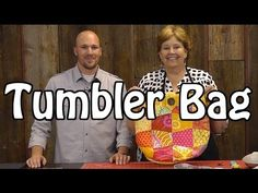 ▶ Tumbler Bag - Sew a Fun Purse with Charm Packs - YouTube @missouriquiltco - Cute, Quick, and makes a great gift!