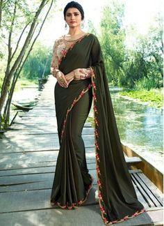 Prachi Desai Green Traditional Saree Bollywood Sarees Online 517ac9fed