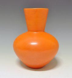 Nora Gulbrandsen for Porsgrund Porselen Porcelain, Vase, Ceramics, Pure Products, Orange, Antiques, Simple, Shades, Hot
