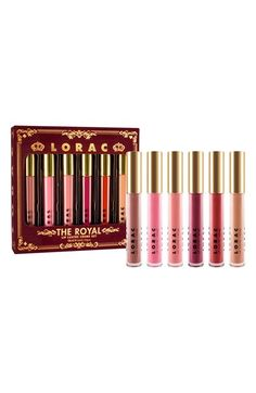 LORAC 'The Royal Lip Lustre' Crème Set (Limited Edition) ($90 Value) available at #Nordstrom