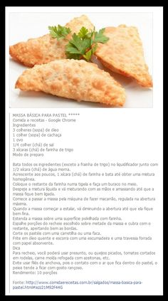 . Empanadas Recipe, Sweet And Salty, Four, Finger Foods, Carne, Baking Recipes, Cantaloupe, Sandwiches, Goodies