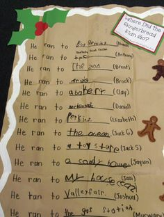 Do with gingerbread baby book Teaching Themes, Preschool Themes, Gingerbread Man Activities, Gingerbread Stories, Kindergarten Writing, Kindergarten Teachers, Christmas Gingerbread Men, Gingerbread Crafts, Preschool Christmas