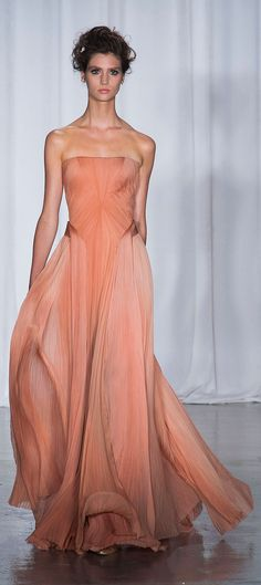 Zac Posen - New York Spring 2014