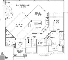 Natural Elements Home - Foothills Cottage Main Floor (loft) 1524 sf