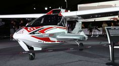 The first production version of the ICON A5 on display at EAA AirVenture this week (Photo: Angus MacKenzie/Gizmag.com)