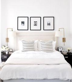 5 Tipps, um Ihr Schlafzimmer zu organisieren 5 tips to your bedroom to organize organize Minimalist Bedroom, Modern Bedroom, White Bedroom Set, Neutral Bedrooms, Clean Bedroom, Gold Bedroom, Pretty Bedroom, Modern Bedding, Bedroom Black