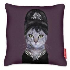 We Love Cushions' Pets Rock Breakfast Cat Cushion 48 x Crazy Cat Lady, Crazy Cats, Cushions For Sale, Cat Cushion, Canvas Art, Canvas Prints, Nordstrom, Soft Furnishings, E Design