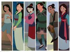 Disney Mulan Wardrobe
