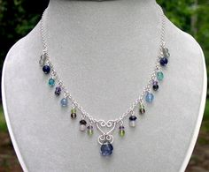 handmade necklaces images | Gemstone necklaces, gem stone necklace, semi precious stone necklaces