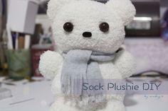 Socks could have many uses: https://vickysscrapbook.wordpress.com/2015/11/23/sock-plushie-diy/