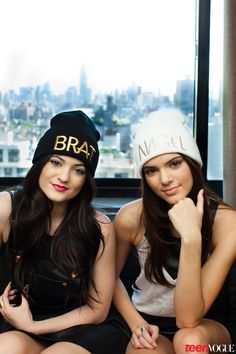 love the hats---kendall and kylie collection from pacsun