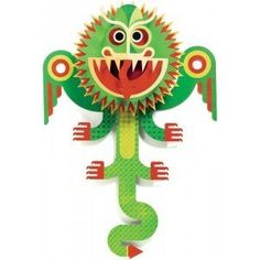 Djeco Dragon Pop Up Art by Djeco. $15.99. Composed of a composite paper. Recommended for ages 3 and up. Decorative pop up wall art. Comes virtually ready to hang. Genuine little paper composition wonders, where illustrated universes suddenly come to life on children's walls. An original use of pop-ups, dream up by Dejeco.
