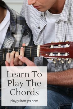 Learn To Play The Chords - One of the first things to do when you are just learning to play the guitar is to learn the chords. Here are the best chords to learn first. Blues Guitar Chords, Guitar Chords Beginner, Guitar Chord Chart, Guitar For Beginners, Guitar Keys, Guitar Notes, Cigar Box Guitar, Acoustic Guitar Photography, Basic Guitar Lessons