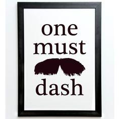 "Poster ""Tata"" från One Must Dash. Storlek: cm Alla posters från One Must Dash kommer utan ram. Alla motiv är tryckta på Fine Art Paper, varar upp till 200 å What Makes A Man, Movember, Box Frames, Wood Boxes, Photo Art, Shop My, Art Prints, Black And White, My Love"