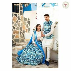 Engagement Dress For Groom, Couple Wedding Dress, Engagement Dresses, Wedding Dresses For Girls, Indian Wedding Outfits, Mens Wedding Wear Indian, Mother Daughter Matching Outfits, Matching Couple Outfits, Twin Outfits