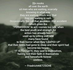#getupandgo #time #life #choice #Nietzsche