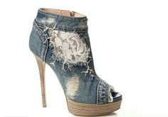 Denim shoes,,So so cute