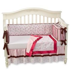 Caden Lane Classic Taylor 4-Piece Crib Bedding Set and Accessories - buybuyBaby.com