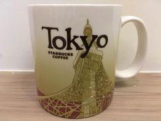 Brand New Starbucks City Mug Icon Tokyo DISCONTINUED Very HARD TO FIND #starbucks