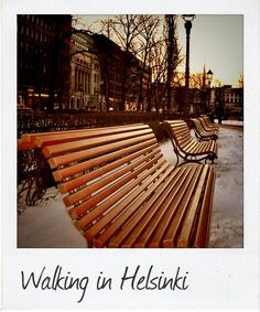 Walking in Helsinki