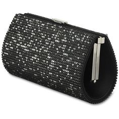Power Jet Evening Bag (2 560 LTL) ❤ liked on Polyvore