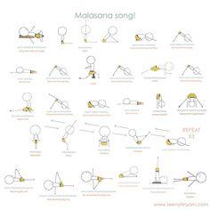 Secuencia de yoga
