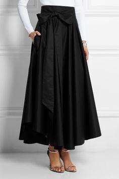 Tibi|Cotton-poplin skirt|NET-A-PORTER.COM