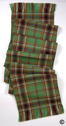 Murphy Irish Tartan Sash.. hm interesting. Didn't know a portion of my family ancestry had a tartan linked to it.