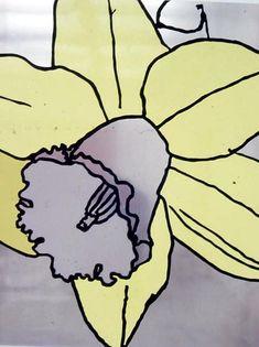 Gary Hume - Daffodils
