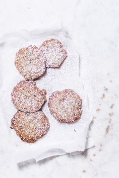 ginger hazelnut biscuits