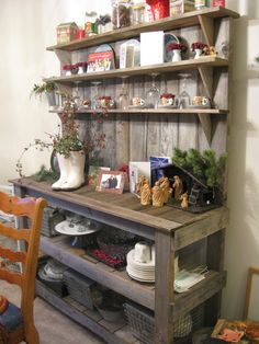 Rustic Hutch For The Patio.