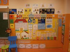 Kindergarten Classroom Organization, Daycare Design, Class Decoration, Class Management, Learning Through Play, Learning Spanish, Preschool Activities, Ideas Para, Circle Time