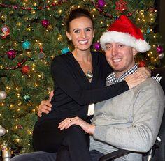 Kyle & Samantha Busch; Christmas time
