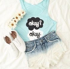 The Fault in our stars outfit // teen fashion // summer fashion
