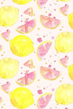Colorful fabrics digitally printed by Spoonflower pink lemonade Colorful fabrics digitally printed by Spoonflower pink lemonade Supanicha supanichachompu Vintage phone backgrounds Pink lemonade watercolor design by erinanne nbsp hellip Trendy Wallpaper, Pink Wallpaper, Fabric Wallpaper, Pattern Wallpaper, Cute Wallpapers, Summer Wallpaper Phone, Iphone Wallpapers, Watercolor Wallpaper, Watercolor Design