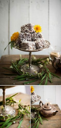 Nutella Lamingtons for Australia Day  |  Adeline & Lumiere Photography    http://adelineandlumiere.com/2013/01/22/nutella-lamingtons/    #foodphotography #australiaday #recipe