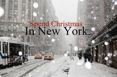 Yes! I love it in New York on a normal day. I couldn't imagine it on Christmas!! :)