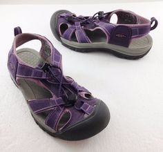 Keen Venice Grape Purple Waterproof Sport Sandals Womens 8.5 US 39 EU 6 UK #KEEN #SportSandals #Casual