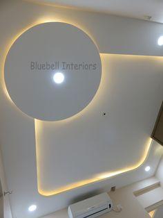 House Ceiling Design, Ceiling Design Living Room, Living Room Designs, House Design, Gypsum Ceiling, Blue Bells, Pop Design, Building Architecture, Ceiling Ideas