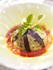 Recette flans d'aubergines