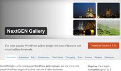NextGen Gallery Plugin #NextGen #Gallery #Plugins #Worddpress