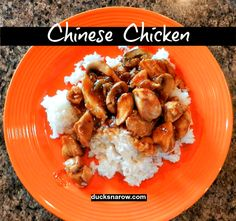Stir fry Chinese chicken recipe that can be made in a non-stick skillet! Easy dinner.