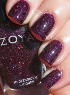 Zoya nail polish in the color Payton... Got it!