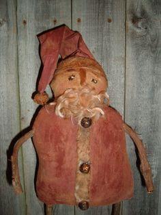 Primitive Folk Art Santa