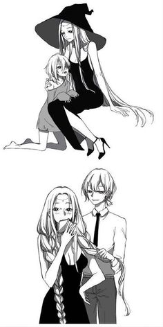 Read from the story Phù Thủy Và Shota by (ROSA) with reads. Anime Couples Manga, Chica Anime Manga, Cute Anime Couples, Anime Guys, Anime Witch, Anime Demon, Witch Series, Couples Comics, Witch Art