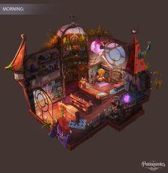 Potionomics- Potion Shop and Potions, Atomhawk Design on ArtStation at https://www.artstation.com/artwork/8OyzG