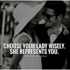 AND vice versa!! Be extremely discerning and careful in choosing your man.