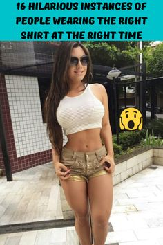 16 Hilarious Instances of People Wearing the Right Shirt at the Right Time Most Popular, Popular Pins, Right Time, New Pins, Hilarious, Funny, All In One, Bikinis, Swimwear