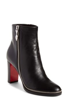 0dbd156a9e6d online shopping for Christian Louboutin Telezip Bootie (Women) from top  store. See new offer for Christian Louboutin Telezip Bootie (Women)